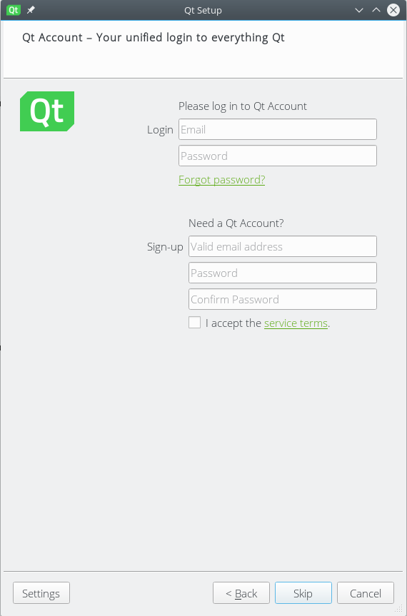 Qt/QML Android App Development Setup – Unix One